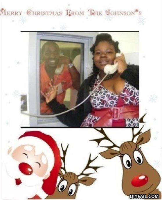 - This can't be real.  Santa doesn't visit black peo