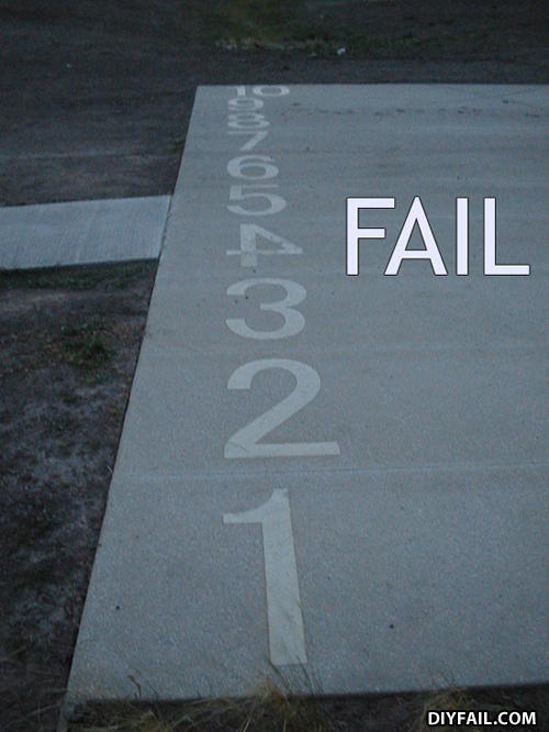 "- ""how badly did this fail?"" wtf!? dont u see it? 1,"