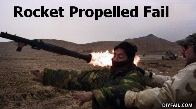 - Terrorist used RPG! It backfired!!