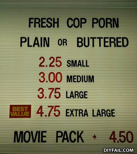 - since when do you pay per penis size in cop porn t