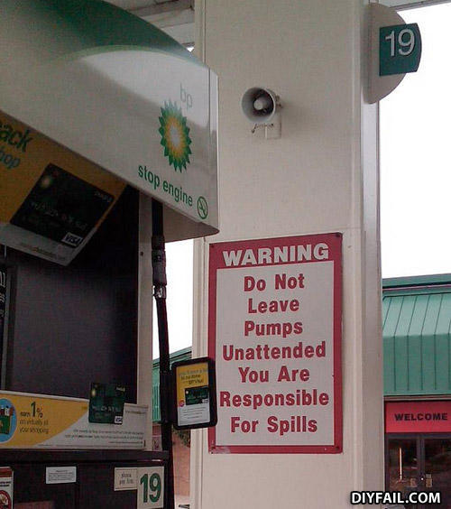 - Do not leave pumps unattended, while you're pumpin